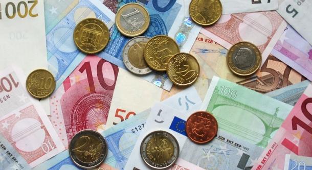euro - Moeda na Itália