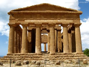 O Vale dos Templos deAgrigento