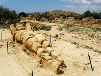 Telamones do Templo de Zeus